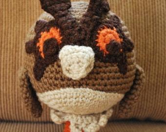 Crochet HootHoot Pokemon