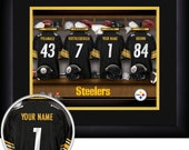 PERSONALIZED & FRAMED NFL Pittsburgh Steelers Sports Print