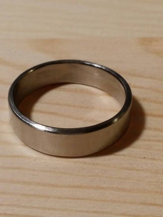 Titanium Ring Band Men 39 S Wedding Ring Hypoallergenic