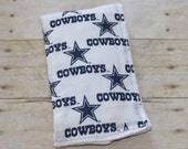 Dallas Cowboys Baby  Burp Cloth