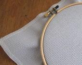 Cross Stitch Fabric - 14 count Aida Cloth | 100 percent cotton Touch of Grey Aida Fabric - Gray Cross Stitch Fabric