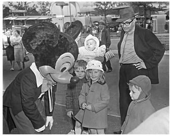 Mickey Mouse Original Photo 1964 Worlds Fair New York Disneyland Rare