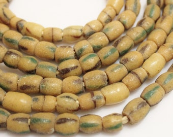 Sand Cast African Beads 3 Strands, Ethnic Beads,  Akoso Beads (H22)