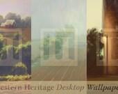 HD Midwestern Heritage Wallpaper Pak - 1920x1080 - Farm Painting