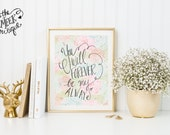 INSTANT DOWNLOAD, You Will Forever Be My Always, Love Printable, No. 357