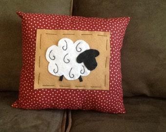Handmade Sheep Pillow
