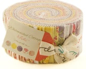 WHITEWASHED COTTAGE - Jelly Roll - by 3 Sisters for Moda