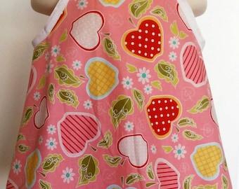 Little Peepo summerwear in Riley Blake fabric size 3T