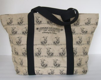American Sheep Industry Commemorative Tote Bag Purse