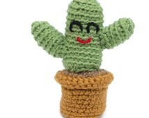 Cactus Plush - Choose Your Colors - Cactus Pincushion