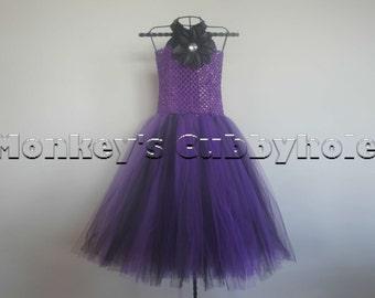 Dark Purple Tutu Dress