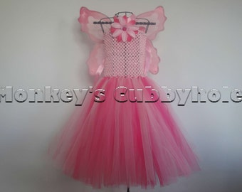 Pink Fairy Tutu Dress Set