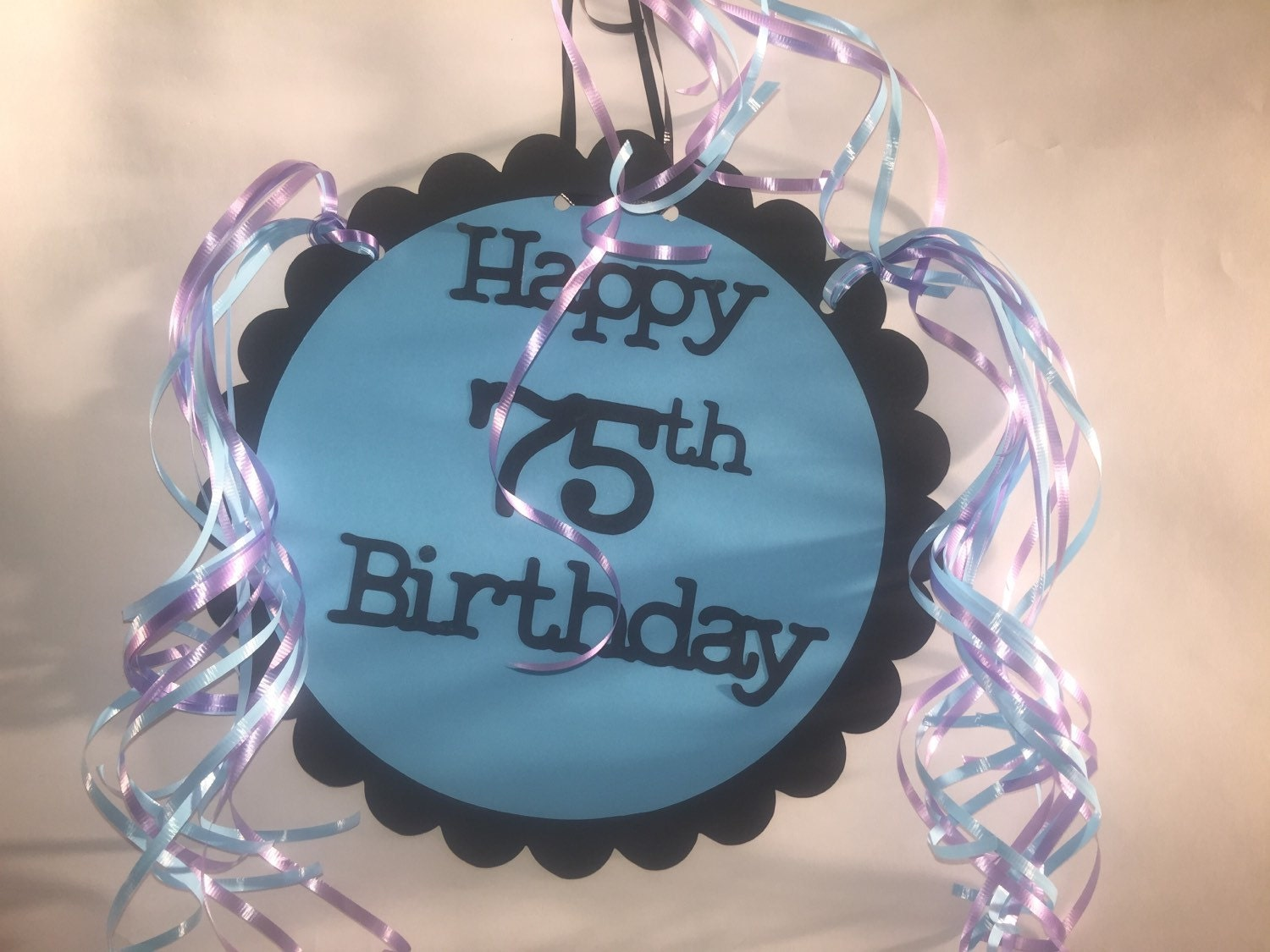 75th birthday decorations giant personalized party by for 75th birthday decoration