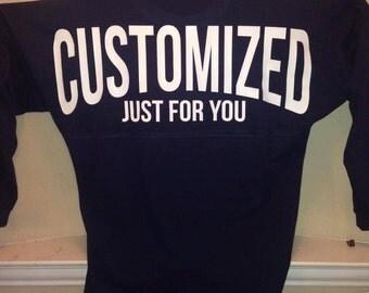 Custom Oversized Jersey