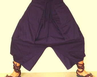 25% OFF CLEARANCE SALE Pocket sided Harem Pants in Purple