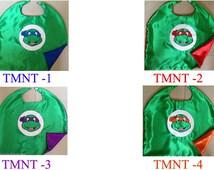 Teenage Mutant Ninja Turtles Costume, Ninja Turtle Party Favors, Ninja Turtle Birthday Favors, Ninja Turtle Capes, Ninja Turtle Birthday