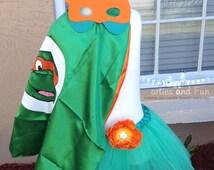 TMNT/Teenage Mutant Ninja Turtles Tutu Dress, Ninja Turtle Party Favors, Ninja Turtle Capes, Ninja Turtle Mask, Ninja, Ninja Turtles