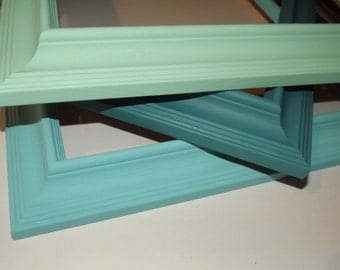 1 ~ 12x16 Made to Order Picture Frame ~ Hand Painted ~ Choice of 36 Colors ~ Moulding size is 2 in W x 1 1/2 in tall with a 5/8 inch rabbet
