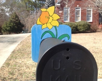 BOX TOPS Daffodil Mail Box Topper