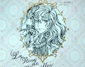 La Rose De Versailles/ Lady Oscar Paper silhouette Art by Ikeda Riyoko Japanese Craft Book (In Chinese)