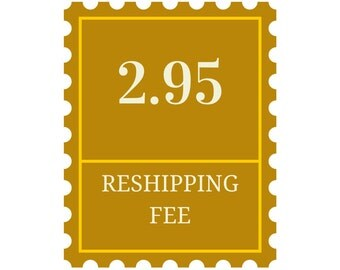 Item Reshipping Fee