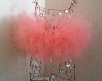 Baby Coral Tutu Skirt
