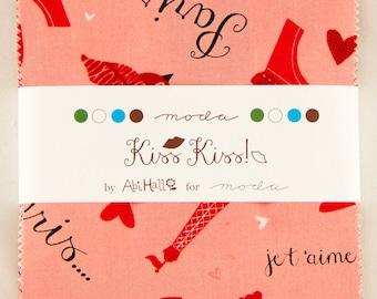Kiss Kiss Charm Pack by Abi Hall for Moda Fabrics