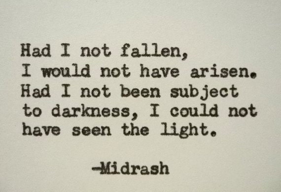 items similar to midrash hebrew quote hand typed quote