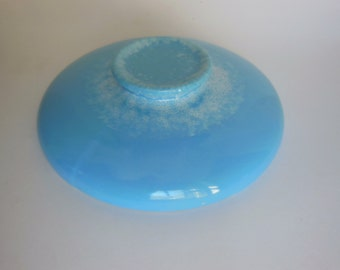 Vintage Hull Turquoise casserole cover Aqua blue cover offers considered