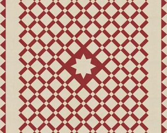French General Etoile Quilt Pattern