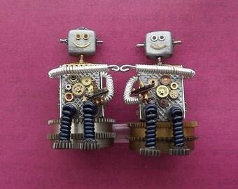 Brobots- video game gamer robots