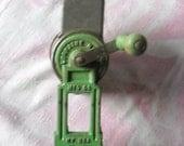 Vintage Nut Grinder, Lorraine Metal Mfg. Co., NY, USA,  1930-40's