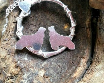 Cocker Spaniel necklace, Dog Necklace, Cocker Spaniel Pendant, Dog Lover Jewelry, Gift for Her