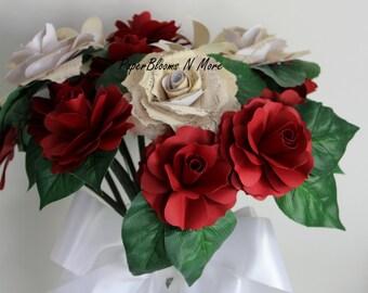 Items similar to vintage music sheet paper roses for for Paper roses sheet music free