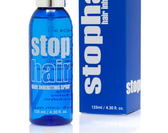 100% Natural Hair Growth Inhibitor Spray - Permanent Hair Removal Spray - Use After Epilation - Hair Inhibiting to Stop Hair Growth
