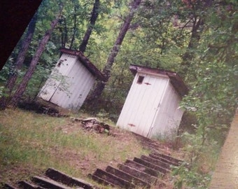 Greeting Card - Outhouses - 5 x 7