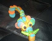 Rainbow sherbert mini dragon