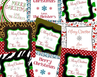 Printable Christmas Gift Tags - Many styles to choose from