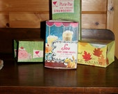 Vintage Ice Cream Boxes from a Variety of Michigan Companies in a Variety of Flavors!