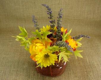 Hand Made Mason jar Wide Mouth Frog Lid Vase- Six Vases With Frog Lids - Rose Mason Jar - Pink Mason Jar