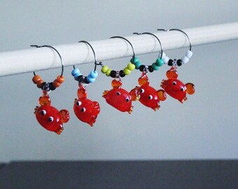 Ready to Ship - Maryland Crab Wine Charms