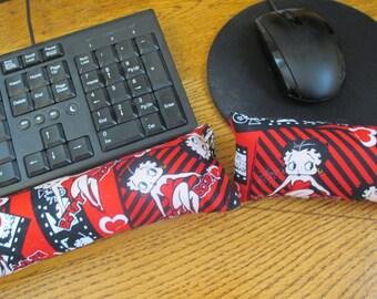 Betty Boop Wrist Rest, Keyboard Wrist Rest, Mouse Wrist Rest