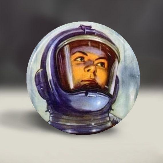 Vintage Astronaut 1950's Sci Fi space helmet by RetroMagnifico