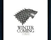 House Stark / Game of Thrones - Cross Stitch Pattern PDF