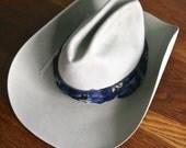Vintage Resistol Western Shepler grey felt hat