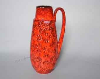 West German Scheurich vase 424-34 - Decor Bernina