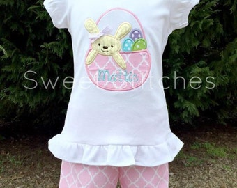 Easter Bunny basket outfit