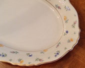 """Syracuse """"Suzanne"""" Small Oval Serving Platter"""