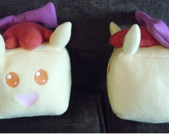 MLP Apple Bloom Sugar Cube Plushie