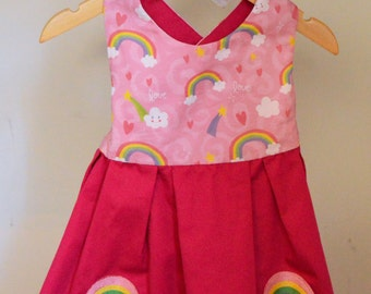 Rainbow Love Dress